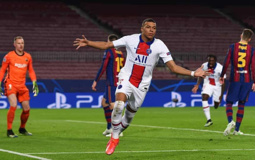 Hat-Trick Di Camp Nou, Mbappe Berpotensi Samai Level Messi dan CR7